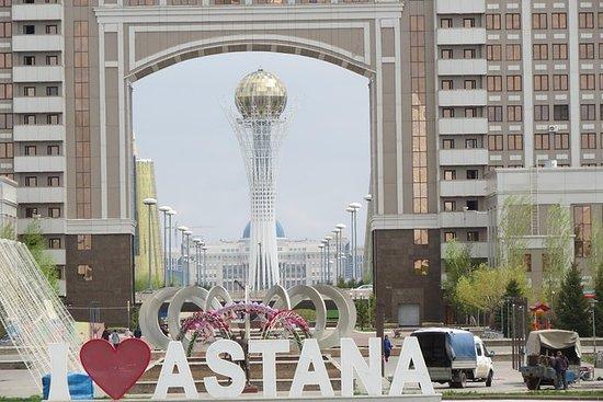 Tour della città ad Astana