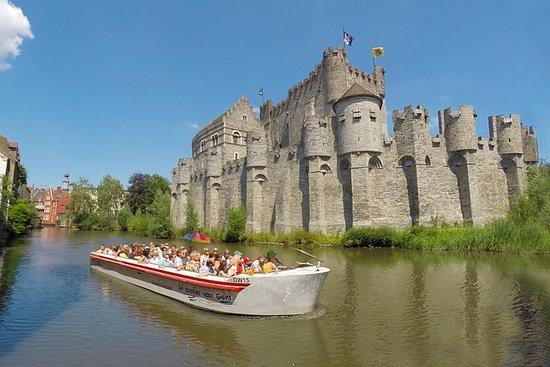 Paseo en barco guiado en la Gante...