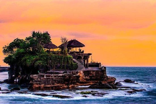 Tanah Lot Sunset og Spa tur fra Bali