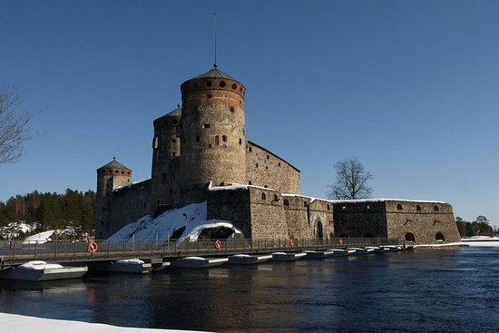 Winterabenteuer von Savonlinna nach...