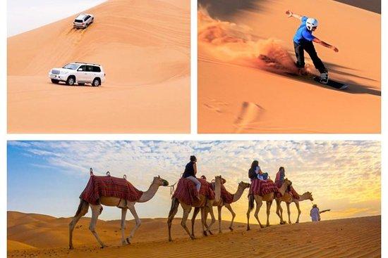 Deserto Privado Dune Bashing, Passeio...