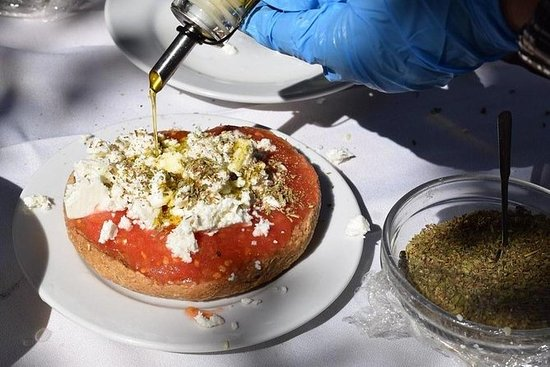 Clase privada de cocina cretense en...