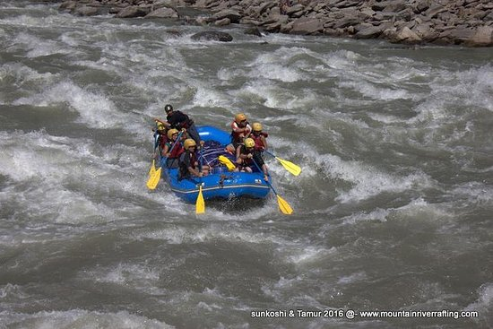 Sun Koshi e Tamur River Expedition