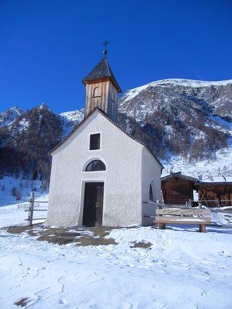 Zingerlehutte: chiesetta