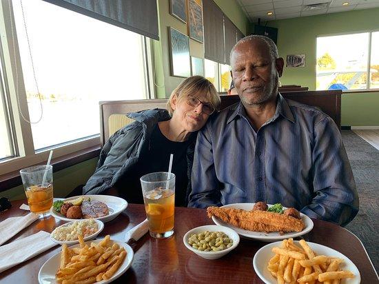Poquoson, Вирджиния: Our lunch