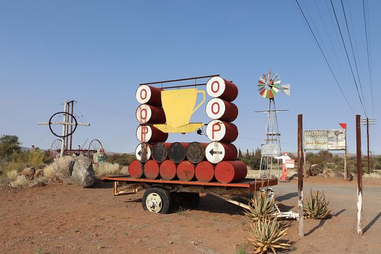 Keimoes, South Africa: Entrance signage