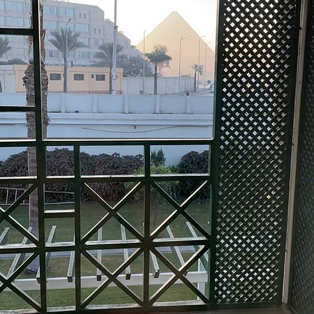 Mercure Cairo Le Sphinx: If you wanna wake up to the best view ever then it's this hotel for sure.