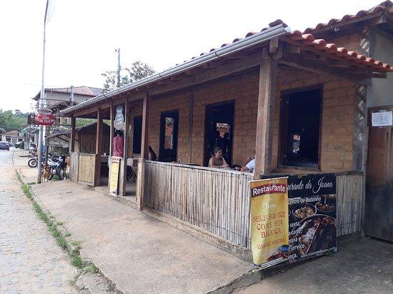 Fachada do Restaurante da Joana