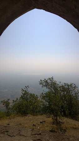 Rani Roopmati Pavillion: View from the top