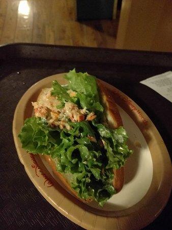 Lobster roll? More like a lettuce roll
