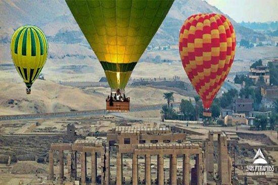 Paseo en globo TripHot Air en Luxor...
