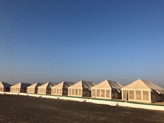 Kutch Classic Rider Camp: The tents