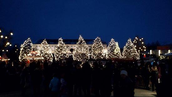 Schlosshof, Αυστρία: Wehnachtsmarkt Schloss Hof