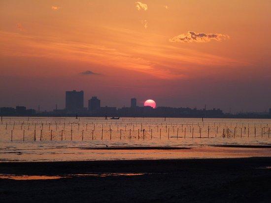 Funabashi, Japon : 夕焼け