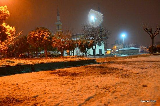 Denizli Province, Turkey: Denizlide ilk kar 25 12 2018