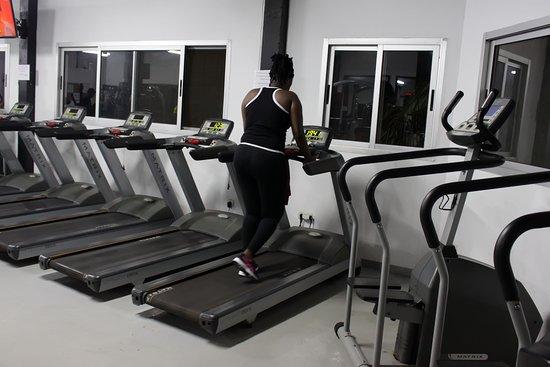 Grand Bassam, Ivory Coast: Salle de sport