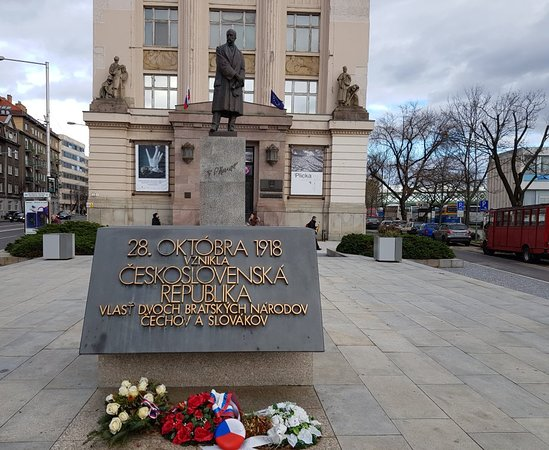 Socha Tomáša G. Masaryka