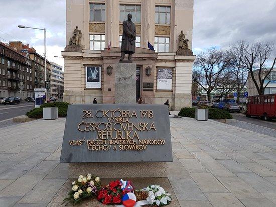 Socha Tomasa G. Masaryka