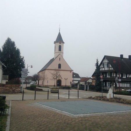 L'eglise St-Jean de Kilstett