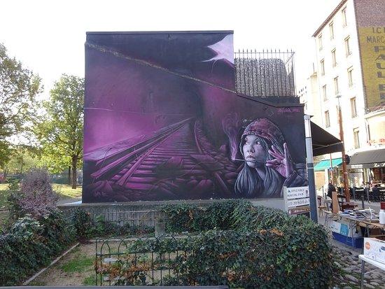 Fresque Métro