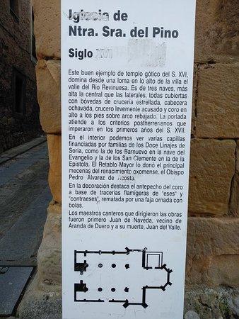 Vinuesa, Spain: Iglesia de Nuestra Señora del Pino