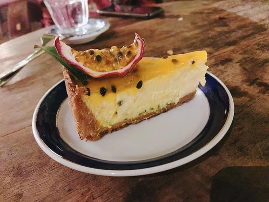Fern Forest Cafe: Passion Fruit Cheese Cake
