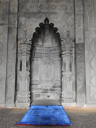 Naogaon, Bangladesch: The central mihrab