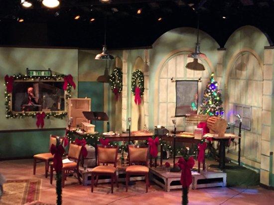 Carmel, IN: The Studio Theater set