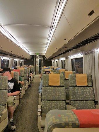 Via Rail Canada: In der Bahn