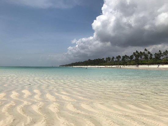 ein Strand wie auf eine Postkarte