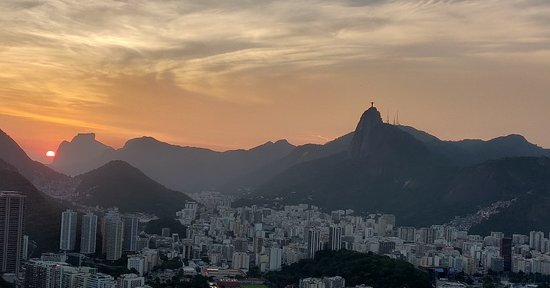 Sunset In Rio - View from Pao de Acucar