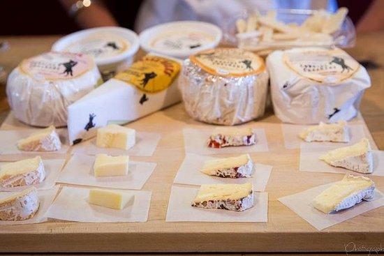 マリンのチーズ・テイスティングの後ろのシーン