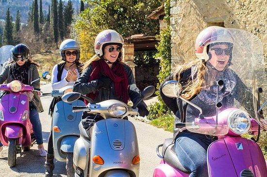 Vespa-Tour durch die Toskana