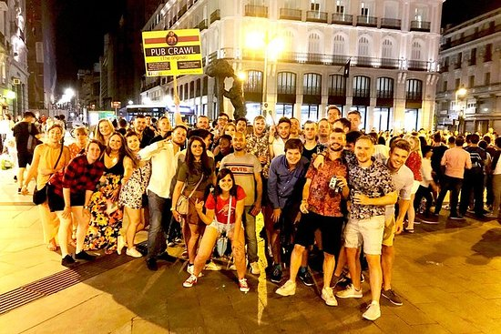 Pub Crawl i Madrid
