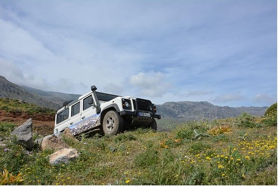 Kreta Land Rover Safari med lunch och ...
