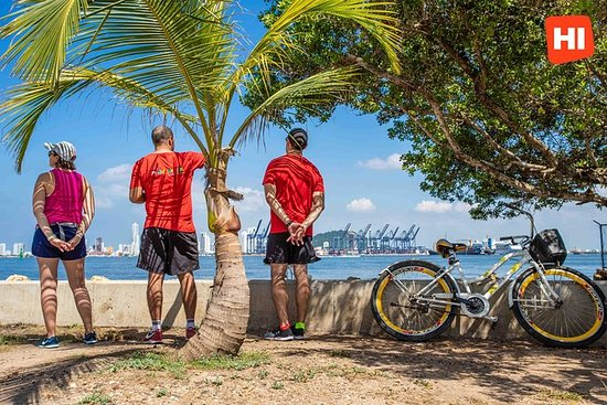 Bicycle Tour of Cartagena, Colombia...