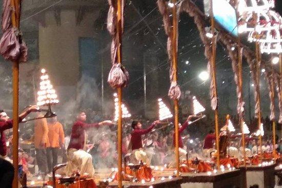 Cérémonie du Gange et promenade en...