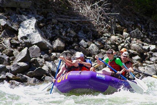 Rafting di mezza giornata sul fiume