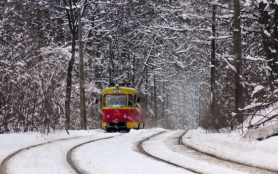 Tram Tour in Yekaterinburg