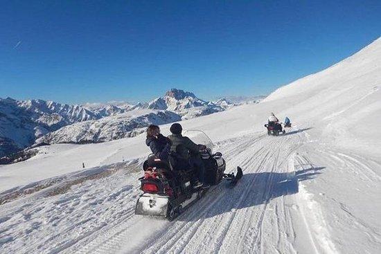 Dolomittene Dagstur med snøscooter...