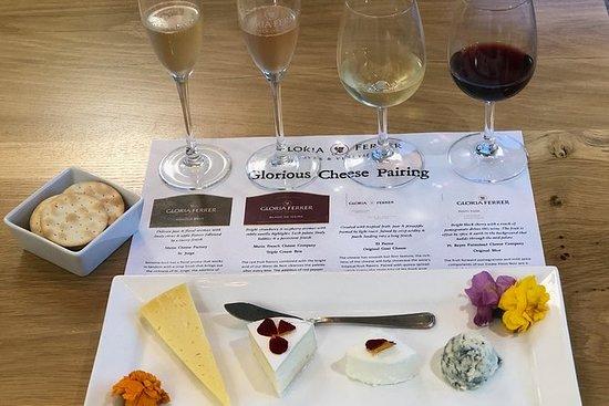 小グループ - ワインとチーズ、オリーブオイル、そしてワインの国でのチョコレート…