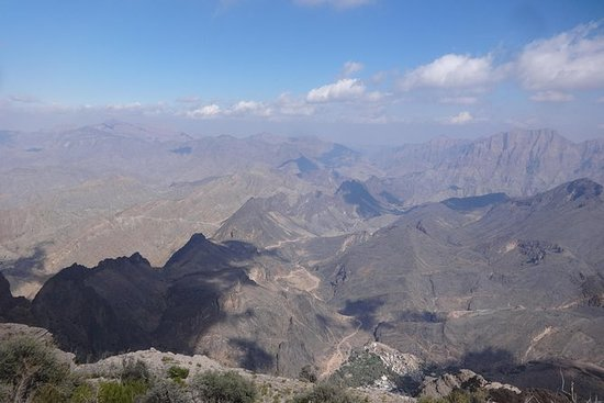 Wadi Bani Awf冒险