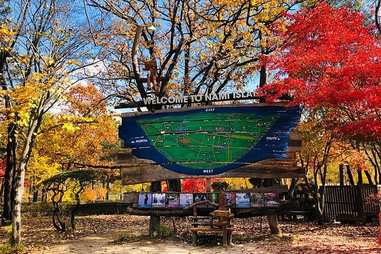 Nami Island en Petite France met The ...