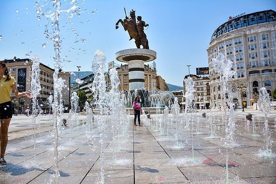 Private Day tour to Skopje Macedonia