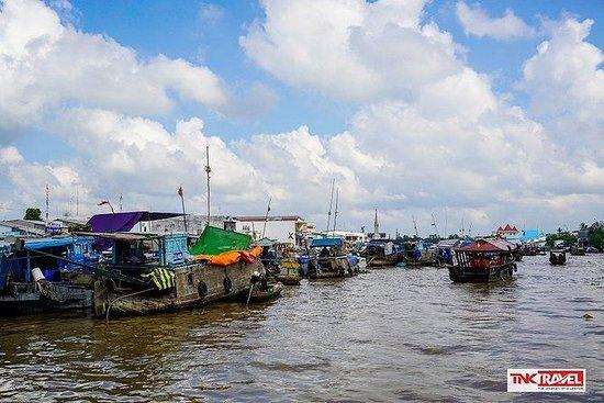 Cai Be浮动市场和Tan Phong岛(全日游)