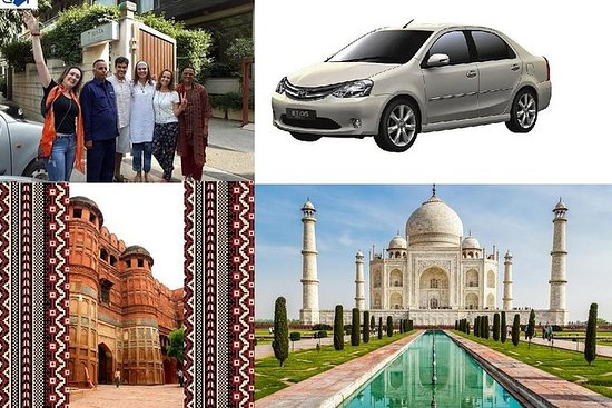 Privat Agra Tour - Taj Mahal & Agra Fort