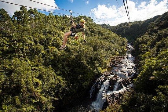 Mauna Kea Trails ATV und Zipline Combo