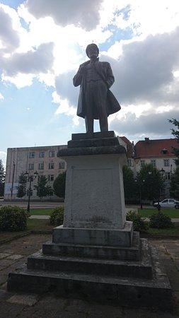 Ozersk, Russia: Памятник В.И. Ленину