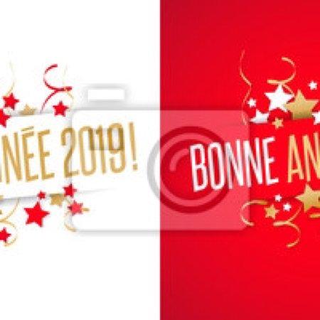 Hesdin, Francja: L'équipe de la Belle Époque vous souhaite une très bonne année 2019!!