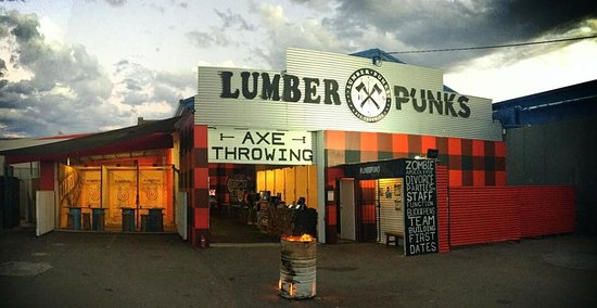 ‪Lumber Punks Axe Throwing - Gold Coast‬